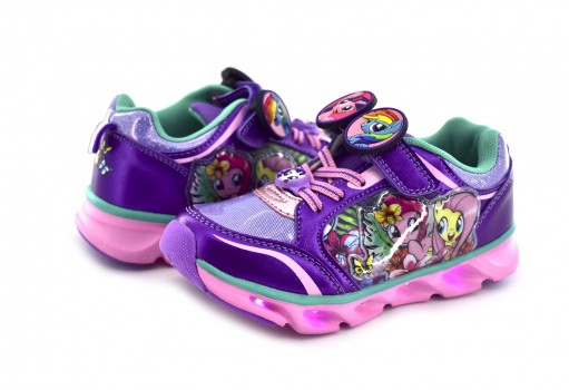 TENIS CON IMAGINACION 52208 LITTLE PONY LILA  14-19