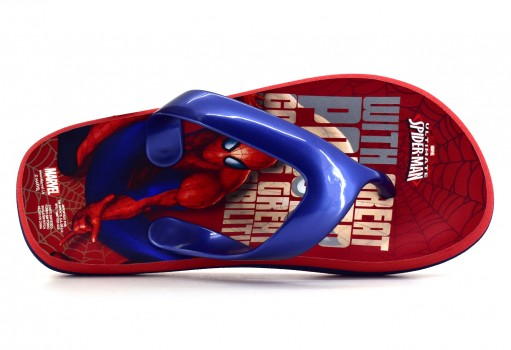 TENIS CON IMAGINACION 6447 SPIDERMAN ROJO  17-21