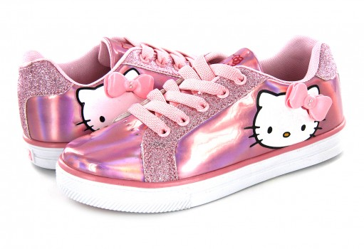 TENIS CON IMAGINACION HBK 1305 ROSA HELLO KITTY  17 AL 21