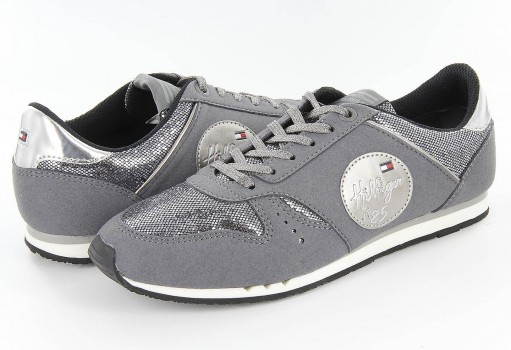 TOMMY HILFIGER FG56 821893 050 STEEL GREY/PEWTER JAIMIE  19-25