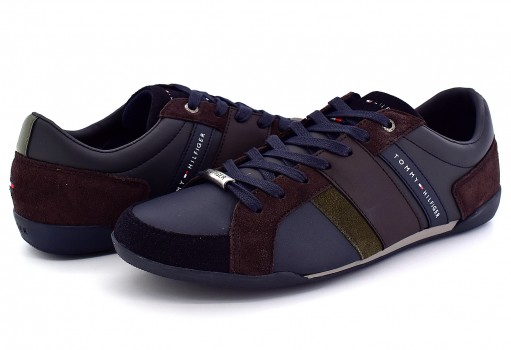 TOMMY HILFIGER FM0F M00922 904 MIDNIGHT-COFFEE BEAN R2285OYAL 3C4  25-30
