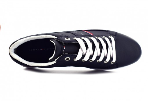TOMMY HILFIGER FM0F M01478 403 MIDNIGHT CORE LEATHER CUPSOLE  25-30