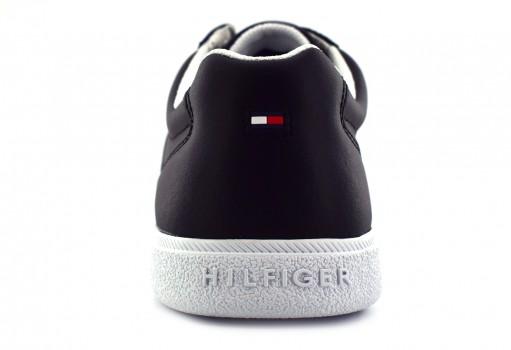 TOMMY HILFIGER FM0F M01478 990 BLACK CORE LEATHER CUPSOLE  25-30
