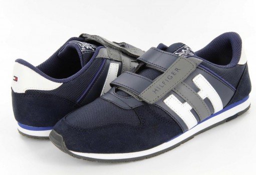 TOMMY HILFIGER FN56 819718 403 MIDNIGHT SUEDE/NYLO JAIMIE 6C  17-25