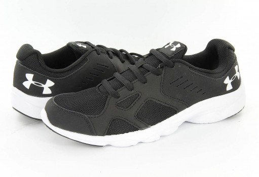 UNDER ARMOUR 1 272292 001 BLACK/WHITE BGS PACE RN  17-25