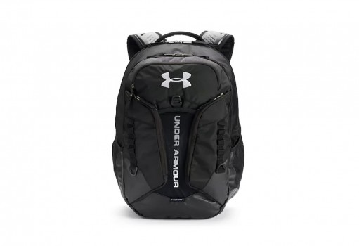 UNDER ARMOUR 1 277418 001 BLACK / BLACK / SILVER CONTENDER BACKPACK  UNICA