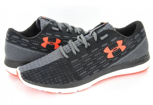 UNDER ARMOUR 1 285676 002 BLACK/RED-WHT SLINGFLEX  25-31