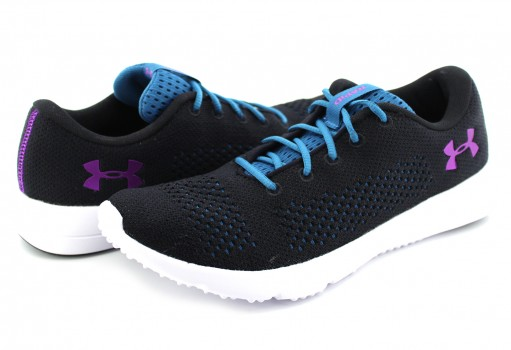 UNDER ARMOUR 1 297452 002 BLK/BYU/PRV W RAPID  23-27