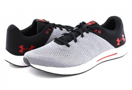 UNDER ARMOUR 3 000011 101 STL/RHG/RED MICRO G PURSUIT  25-30