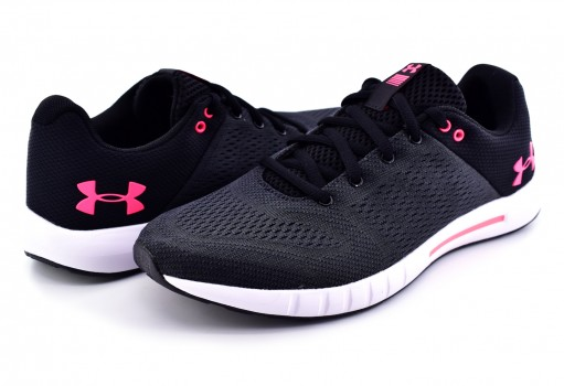 UNDER ARMOUR 3 000101 001 BLK/ATH/ATH MICRO G PURSUIT  22-27