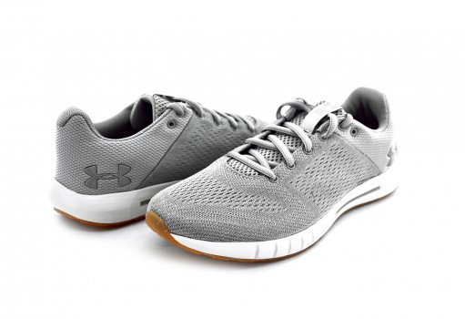 UNDER ARMOUR 3 000101 109 GHOST GRAY MICRO G PURSUIT  23-27