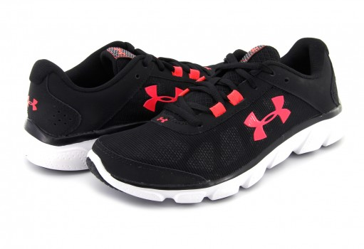 UNDER ARMOUR 3 020674 002 BLK/WHT/NPU W MICRO G ASSERT 7  22-27