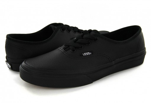 VANS 18RL3B BLACK/BLACK AUTHENTIC  16-22