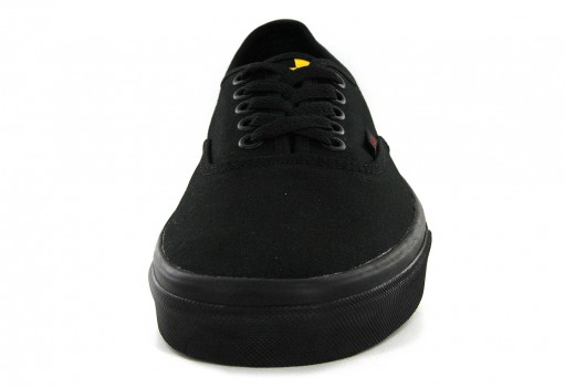 VANS 38EMMO Q (CHECKER TAPE) BLACK/BLACK/RASTA AUTHENTIC  21.5-31