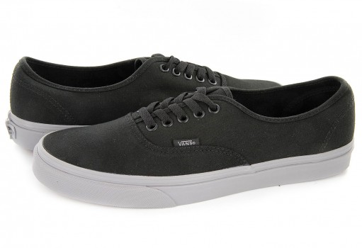 VANS 38EMMQ 4 (POP) BLACK/FROST GRAY AUTHENTIC  21.5-31