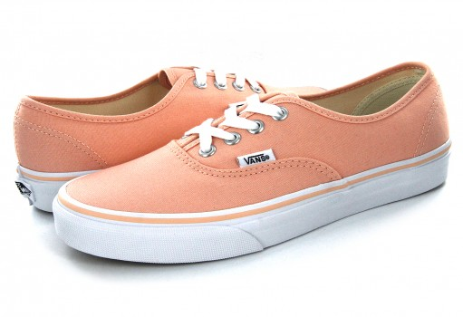 VANS 38EMMR 1 TROPICAL PEACH/TRUE WHITE AUTHENTIC  21.5-26.5