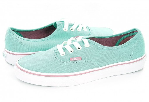 VANS 3B9IET (IRIDESCENT EYELETS) FLORIDA KEYS AUTHENTIC  22.5-26.5