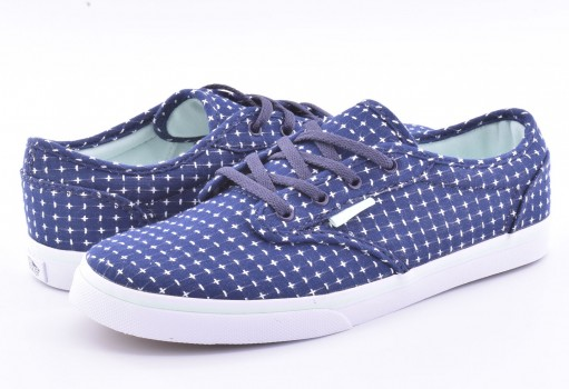 VANS 3 4ABOSM (STITCH) NAVY ATWOOD LOW 16