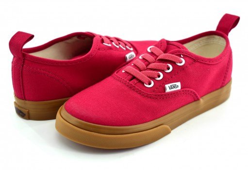 VANS 3 8E8Q6M CRIMSON/GUM AUTHENTIC ELASTIC  09-15