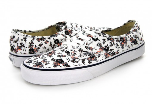 VANS 3 8EMOMA (DITSY BLOOM) TRUE WHITE AUTHENTIC 21.5