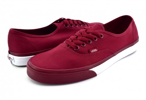 VANS 3 8EMQ7H (MONO BUMPER) CABERNET/TRUE AUTHENTIC  21.5-31