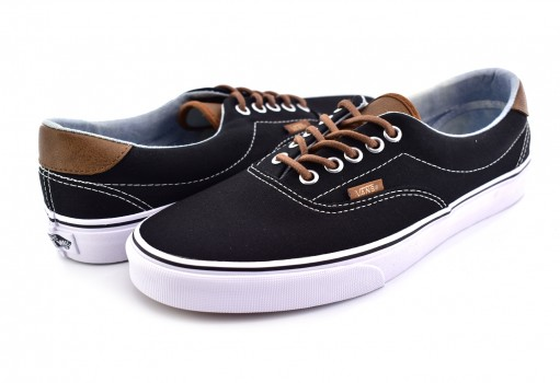 VANS 3 8FSQK3 (C&L) BLACK/ACID DENIM ERA 59  25-31