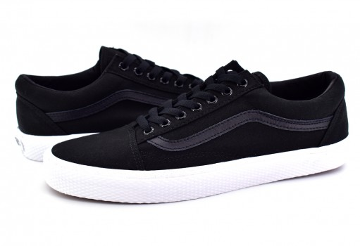 VANS 3 8G1OJS (WAFFLE WALL) BLACK/TRUE WHITE OLD SKOOL 21.5