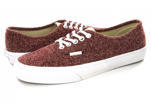 VANS 8EMOEF (J&S) TIBETAN RED/TRUEWHT AUTHENTIC 21.5