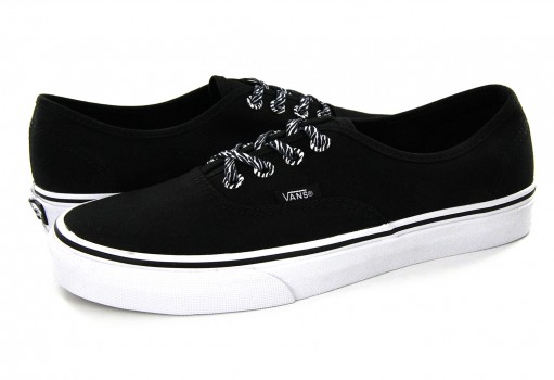 VANS 8EMOME (EYELETS) BLACK/ZEBRA AUTHENTIC 21.5