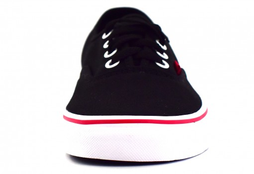 VANS 8EMORC (POP) BLACK/RACING RED AUTHENTIC 21.5