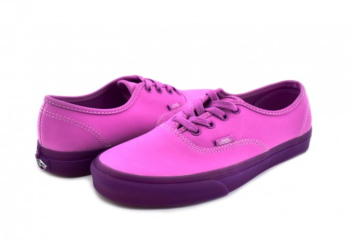 VANS 8EMU5S (TRANSLUCENT GUM) VIOLET AUTHENTIC  22-26.5