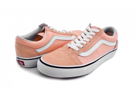 VANS 8G1U5Y BLEACHED APRICOT/TRUE WHITE OLD SKOOL  22-26.5