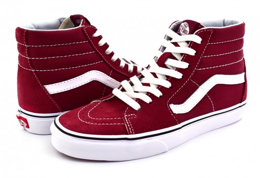 VANS 8GEQ9S APPLE BUTTER/TRUE WHITE SK8 HI 21.5
