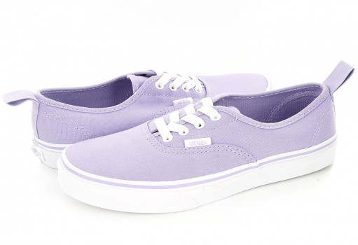 VANS A 38H4MM D LAVANDER/TRUE WHITE AUTHENTIC ELASTIC  16-24