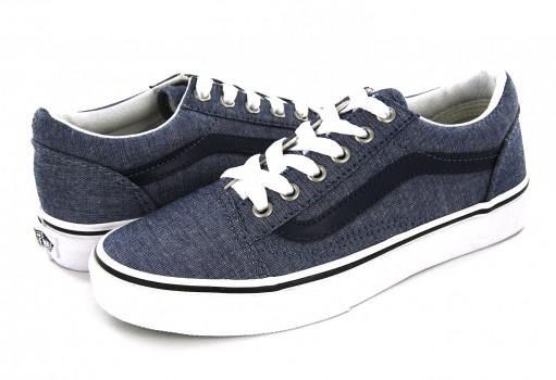 VANS A 38HBMM M CHAMBRAY/BLUE OLD SKOOL 16