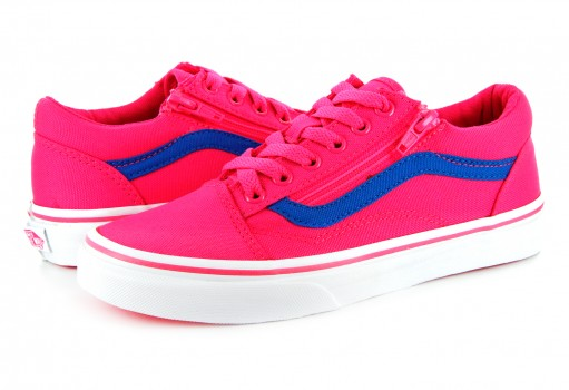 VANS A 38HEMM V PINK/BLUE OLD SKOOL ZIP  16-24