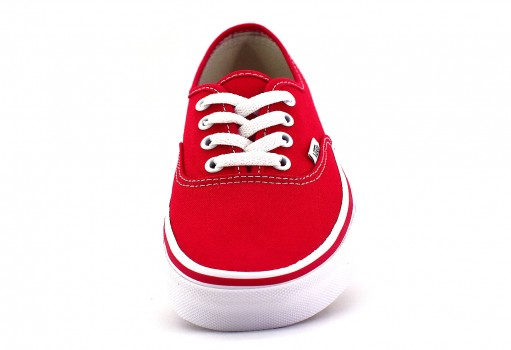 VANS EE3RED CORE CLASSIC RED AUTHENTIC CLASSICS  21.5-31