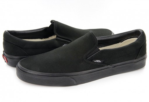VANS EYEBKA CORE CLASSIC BLACK CLASSICS SLIP ON  21.5-31