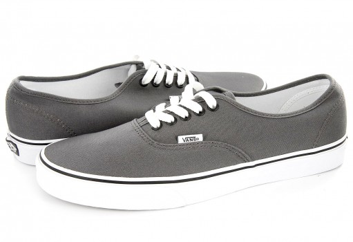 VANS JRAPBQ PEWTER/BLACK AUTHENTIC  21.5-31