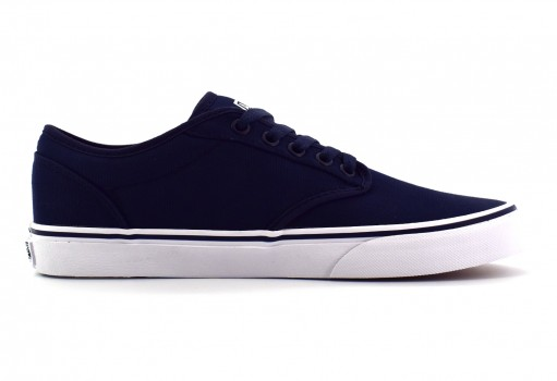 VANS KC44K1 NAVY/WHITE (CANVAS) ATWOOD  21.5-31