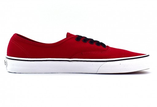 VANS NJV2KA CORE CLASSIC CHILI PEPPER/BLACK AUTHENTIC CLASSICS  21.5-31