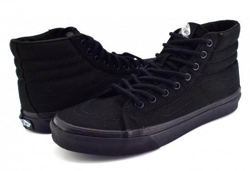 VANS QG3BKA BLACK/BLACK SK8 22