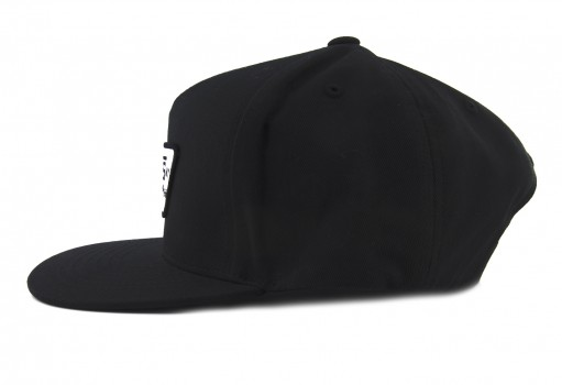 VANS QPU9RJ TRUE BLACK FULL PATCH SNAPBACK  UNICA