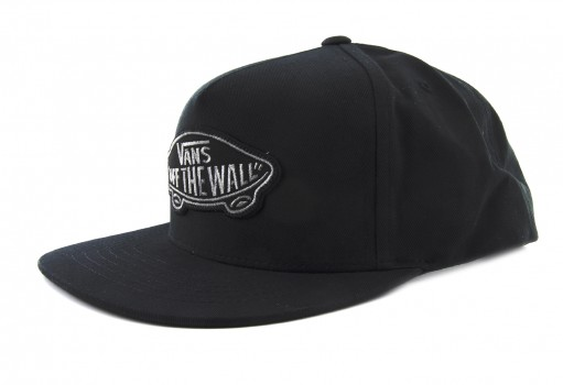 VANS TLSBLK BLACK CLASSIC PATCH SNAPBACK  UNICA