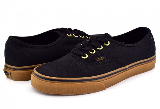 VANS TSVBXH BLACK RUBBER AUTHENTIC  21.5-31
