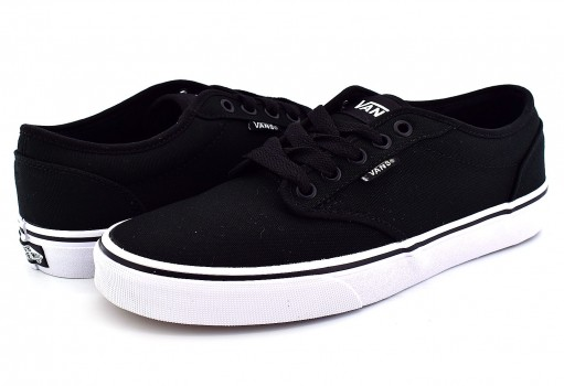 VANS TUY187 BLACK/WHITE (CANVAS) ATWOOD  21.5-31