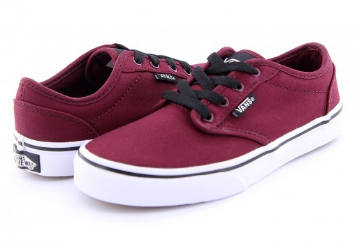 VANS UDTDDU (CANVAS) OXBLOOD/BLACK ATWOOD  16-24