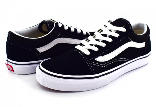 VANS W9T6BT BLACK/TRUE WHITE OLD SKOOL  16-22