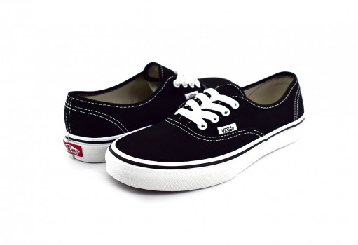 VANS WWX6BT BLACK/TRUE WHITE AUTHENTIC CLASSICS  16-22