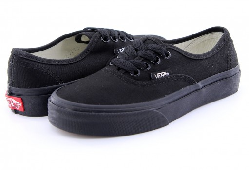 VANS WWXENR BLK/BLK AUTHENTIC  16-22